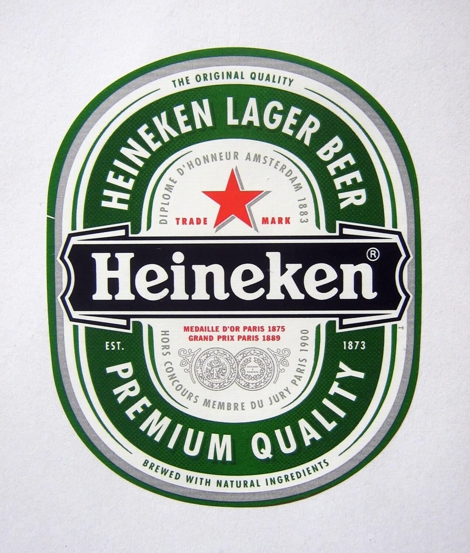 Heineken-etykieta